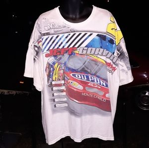 Vintage Nascar Jeff Gordon All over print sz 2XL